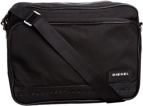Diesel - Borsa X01311PS711T8013 Uomo, Nero (Schwarz (Black T8013)), Schwarz (Black T8013)
