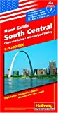 Hallwag South Central, Central Plains & Mississippi Valley ~ USA Road Guide No 7 (USA Road Guides)