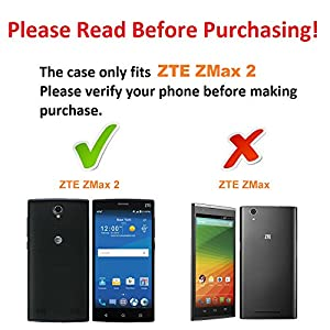 ZTE ZMAX 2 Case, DuroCase ® Hybrid Dual Layer Combat Armor Style Kickstand Case w/ Belt Clip Holster Combo for ZTE ZMAX 2 Z958 / Z955 (Released in 2015) - (Hunter Camo) by DuroCase