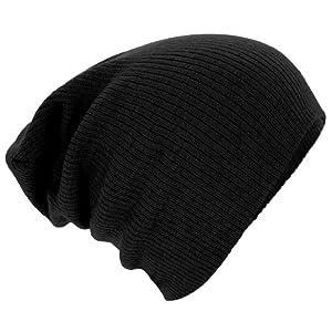 Beechfield - Bonnet - Adulte unisexe (Taille unique) (Noir)