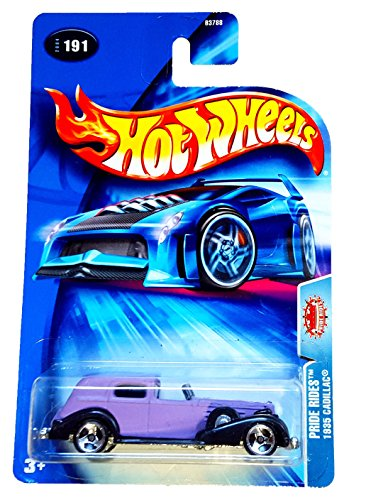"Hot Wheels 1935 Cadillac ""Pride Rides"" #191 (2004) - 1"
