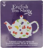English Tea Shop Super Fruit Gift Tin (72 Sachet Tea Bags)