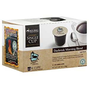 Caribou Coffee Daybreak Morning Blend, K-Cups for Keurig Brewers