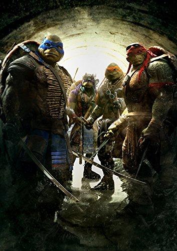 �Dz� �ƥ����������ߥ塼����ȡ��˥㡦�����ȥ륺 2014 �ݥ����� 42x30cm Teenage Mutant Ninja Turtles ���¹�͢���ʡ�
