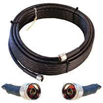Wilson Electronics 952350 50 feet WILSON400 Ultra Low Loss Coax Cable with N Male Connectors