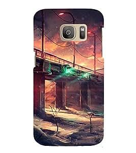 EPICCASE draught land Mobile Back Case Cover For Samsung Galaxy S7 Edge (Designer Case)