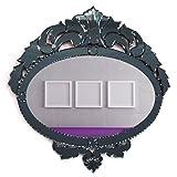 Venetian Design Wall Mirror VDS-30 Size 28x27 Inches Black Colour