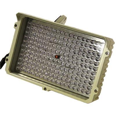 IR Illuminator Camera 300 ft Indoor / Outdoor Infrared (IR) CCTV Surveillance Security Camera Illuminator