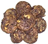 Scott's Cakes Brownie Chunk Cookies with Walnuts in a Decorative Mini Tin