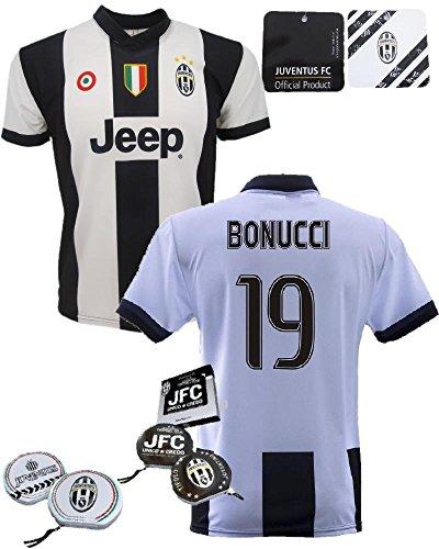 Maglia calcio bimbo Bonucci Juve *22284 Replica ufficiale autorizzata Juventus + porta cd-12 anni
