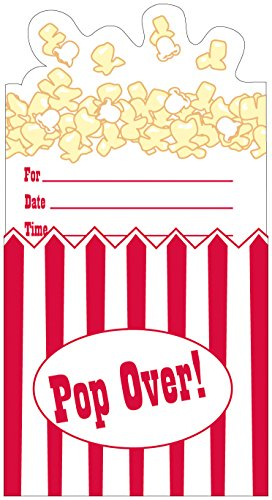 Creative Converting 8 Count Pop-Up Invitation - 1