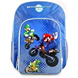 Nintendo Mario Kart Wii Boys Blue Cargo Backpack (Blue) [Apparel]