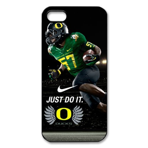 Famous UO NCAA Oregon Ducks IPhone 5 5S Cover Case Nike Just Do It Snap On (Gameboy Advance Captain America compare prices)