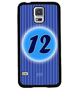 Fuson 2D Printed Numerology Designer back case cover for Samsung Galaxy S5 Mini - D4230