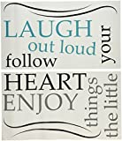 Wall Pops WPQ0813 WPQ0813 Laugh Out Loud Wall Quote Wall Decals