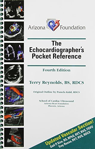 The Echocardiographer's Pocket Reference, 4th Edition (2013), by Terry Reynolds, by Terry Reynolds
