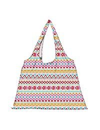 Snoogg High Strength Reusable Shopping Bag Fashion Style Grocery Tote Bag Jhola Bag - B01B977XIE
