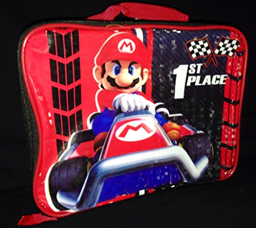 Nintendo Mario Kart Lunch Box Kit, Red