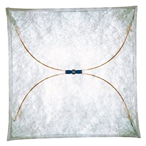 Flos Ariette 2 Wand / Deckenleuchte, natur 100x100cm Textil Metall  Überprüfung und weitere Informationen