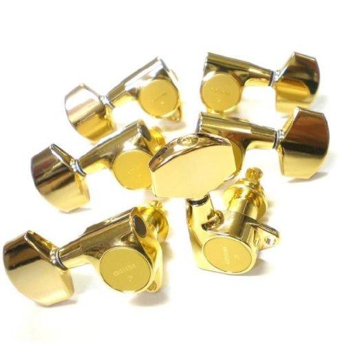ゴトー ペグ GOTOH SG301 01 GG L3 R3 ゴールド LR/G 両側 6個セット