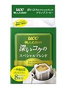UCC 職人の珈琲ドリップコーヒー深いコクのスペシャルブレンド (7g×8P)×12袋