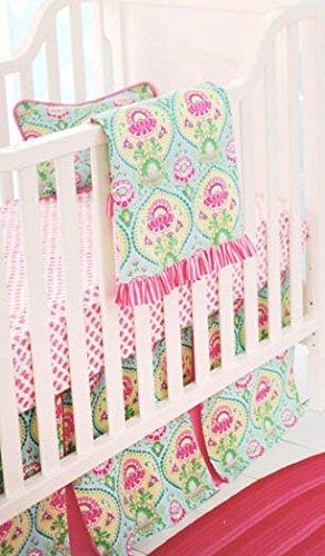 New Arrivals 4 Piece Crib Set, Layla Rose