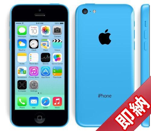 海外版SIMフリーApple iPhone5C 16GB Blue