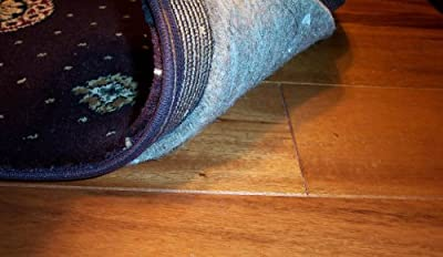 """2.5'x9' AREA RUG carpet PAD. MULTIPLE SIZES and shapes to choose from. 3/8"""" THICK Authentic MOHAWK Industries synthetic 32 OUNCE Specifiers choice P32A. 100% recycled FELT JUTE. Home area rug pads, runner, rectangle, square, oval and round. Underlay, padd"""