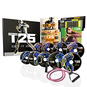Shaun T's FOCUS T25 DVD Workout - Base Kit by Beachbody Inc.,