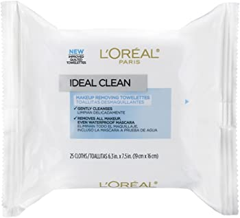 25-Ct LOreal Paris Ideal Clean Making Removing Facial Towelettes