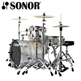 Sonor Prolite Silver Sparkle 4-Piece Shell Pack