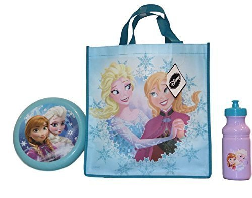 Disney-Frozen-Flying-Disc-Pull-top-Bottle-and-Reusable-Tote-Bundle-Su-19