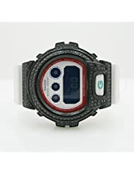 Casio Watches 6900 G SHOCK Mens Black Swarowski Crystal Watch