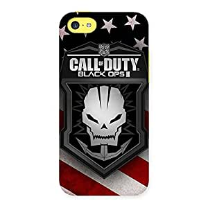 Premium Duty Calling Back Case Cover for iPhone 5C