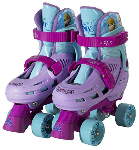 Great Deal! Disney Frozen Kids Roller Skates, Size 1-4 (Adjustable)