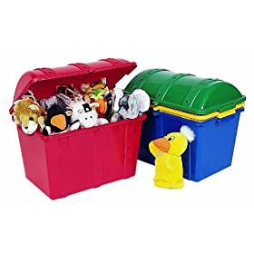 ECR4Kids Treasure Chest for Storage