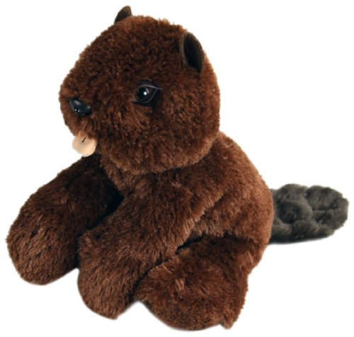 "Purr-Fection Wilson Junior Snuggle Ups Beaver 8"" Plush"
