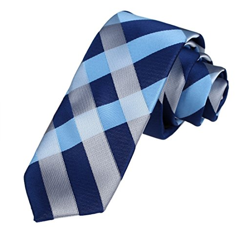 DAE7C07-09-Handmade-Design-Woven-Microfiber-Checkered-Skinny-Tie-By-Dan-Smith