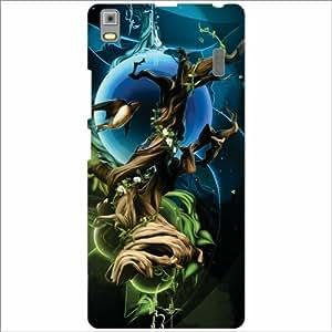 Design Worlds - Lenovo A7000 - PA030023IN Designer Back Cover Case - Multic...