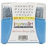 ImpressArt Uppercase Stamp Set, 3mm, Ballroom Boogie