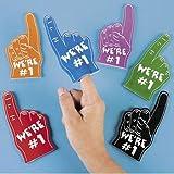 Foam Mini Fingers (1 dz)