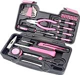 Tool Box Set 39 Pieces Pink