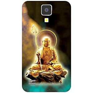 Samsung I9500 Galaxy S4 Back Cover - Live At Peace Designer Cases