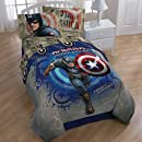 Marvel Captain America Twin Microfiber Comforter Bed Cover