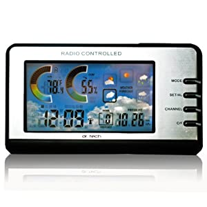 WS-0170T Home Indoor Wireless Weather Station
