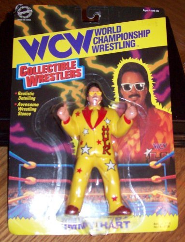 Wcw Collectible Wrestlers - Jimmy Hart - 1