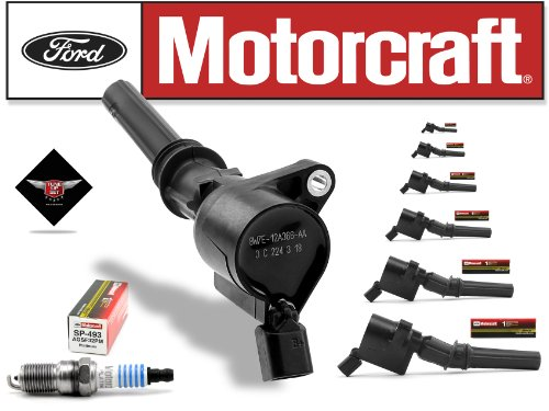Tune Up Kit 2003-2004 Lincoln Town Car 4.6L High Performance Ignition Coil DG508