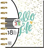 me & my BIG ideas Create 365 The Happy Planner, Hello Life, 18 Month Planner, July 2016 - December 2017