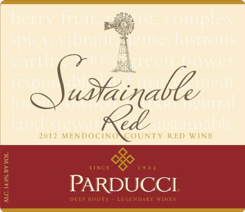 2012 Parducci Sustainable Red Mendocino County 750 Ml