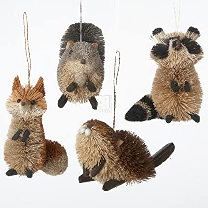 Buri woodland animal hanging ornament